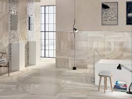 faux marble tile bathroom