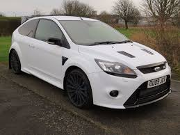 Focus Rs 2009 Ice White 2009 Ford Focus Rs 12 Months Mot Full Servce