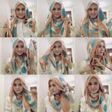 tutorial turban sederhana pilih 1 dari 2 tutorial hijab sederhana segi empat yang paling tepat