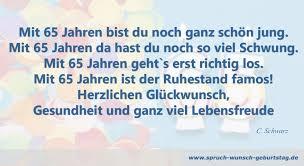 zum 65 geburtstag glückwünsche gedichte sprüche - Spr Che Zum Ruhestand Chef
