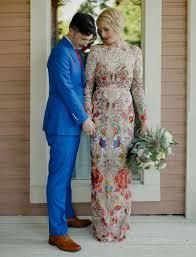 temperley london playful colorful wedding groom