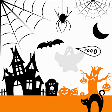 free haloween images silhouette friendly u0026 mostly free fall fonts and halloween
