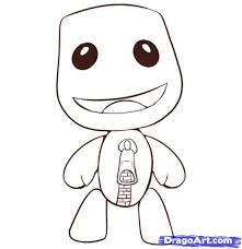 the incredible as well as interesting little big planet coloring