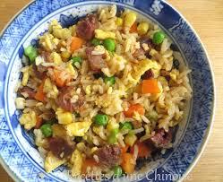 recette riz cuisiné recettes d une chinoise riz cantonais pour finir les restes 家常炒饭