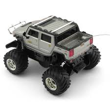 remote control bigfoot monster truck 1 6 scale hummer vehicle
