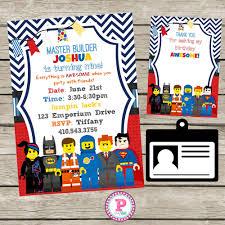 Lego Invitation Cards Lego Movie Free Printable Invitations Dylan U0027s 5th Birthday