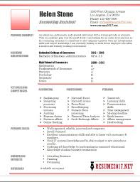 accounting resume templates accounting assistant resume template 2017