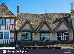 medieval and tudor architecture windows and rooves of old