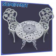 White Aluminum Patio Furniture by Quality Cast Aluminum Patio Furniture Cast Aluminum Patio