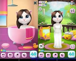 talking android talking angela for android chat with angela
