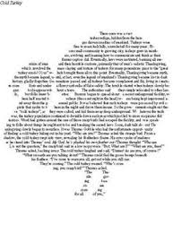 this picture is a wordle of the poem the most frequently used words