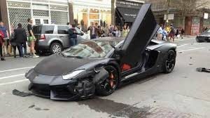 lamborghini aventador crashes lamborghini aventador crashes in w rssportscars com