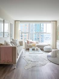 whites grays peach pink living room neutrals relaxing