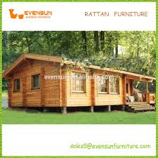 beautiful easy assembly single floor wooden house on sale view