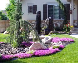 landscaping design ideas sunshiny front yard landscaping ideas design ideas for image front