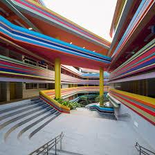 designboom green school colorful nanyang primary school extension studio505 lt t architects