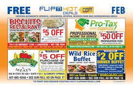 flip u0027nhot deals coupon book february 2017 north orlando area by