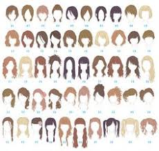 names of anime inspired hair styles what is the name of the haircut in number 12 and 13 of this
