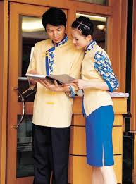yellow women u0027 s and men u0027 s hotel staff uniforms oem cotton