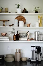 kitchen open shelving ideas best 25 kitchen shelf decor ideas on kitchen shelves
