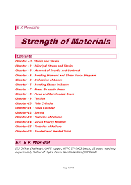 strength of materials by s k mondal pdf by s dharmaraj issuu