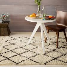 surya sherpa taupe and ivory wool rug