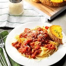 wedding gift spaghetti sauce cooked spaghetti sauce recipe taste of home