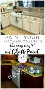 how to prep cabinets for painting kitchen cabinet makeover annie sloan chalk paint artsy rule