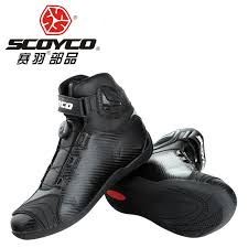 street bike riding shoes scoyco street motorcycle boots road automobile wearable racing boots