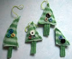 felted sweater christmas ornaments if you have never felted an