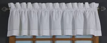 Linen Valance Tailored Valances Solid Colored Patterned