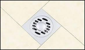 Bathroom Shower Drains Modern Floor Drainer Brass Chrome Bathroom Shower Drain Washer