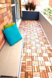 apartment therapy a quick balcony refresh u2013 instant decking