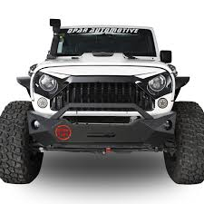 white jeep 2017 white front topfire grille grid grill for jeep wrangler jk 2011