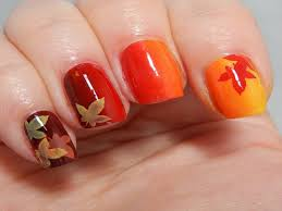 thanksgiving ombre nail designs nail ombre