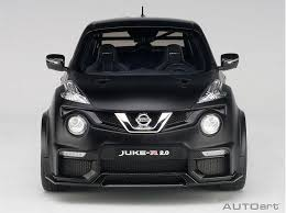 nissan juke black autoart 77458 nissan juke r 2 0 1 18 matte black bt diecast