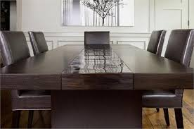 Custom Made Dining Room Furniture High End Bamboo Dining Table Custom Made Furniture From Aguirre