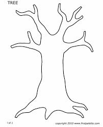 Fall Tree Template fall tree template pertamini co