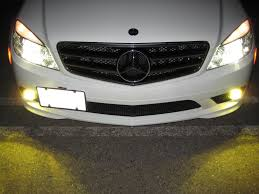 lexus is350 yellow fog lights a good yellow fog light output page 2 mbworld org forums