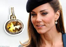 earrings kate middleton kate and citrine earrings kate s royal hats and jewels