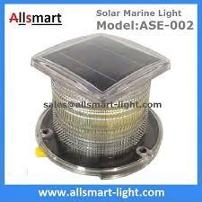 solar led dock lights 15led solar marine aquaculture lights ase 002 buoys navigation
