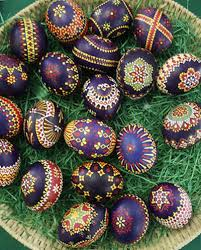 german easter decorations goose feather painted german easter eggs remarkable great
