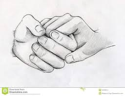images for u003e pencil drawing of couple holding hands drawing