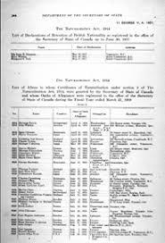 bureau de naturalisation registres de naturalisation 1915 1951 bibliothèque et archives