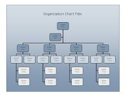 6 best images of business organization chart template company