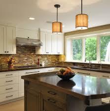 kitchen drum light impressive kitchen design white painted cabinet bright kitchen