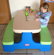 little tikes easy store picnic table little tikes easy store picnic table with umbrella cooltoysrental com