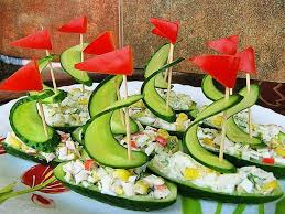 amazing decoration ideas of vegetable salad with different styles