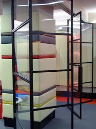 sliding glass door room dividers folding u0026 sliding steel and glass doors caliper studio