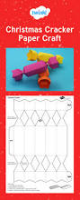 christmas cracker paper craft good to use for nets and 3d shapes